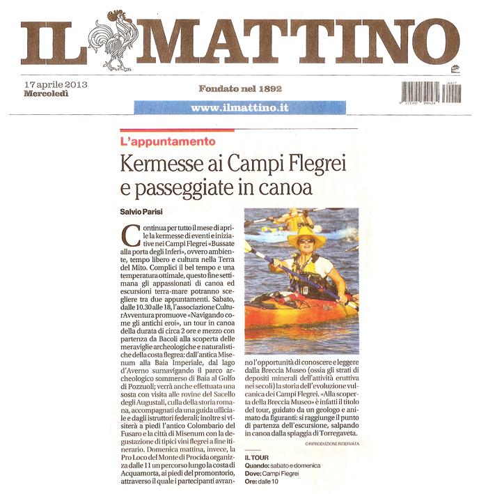 3---Il-Mattino--canoa
